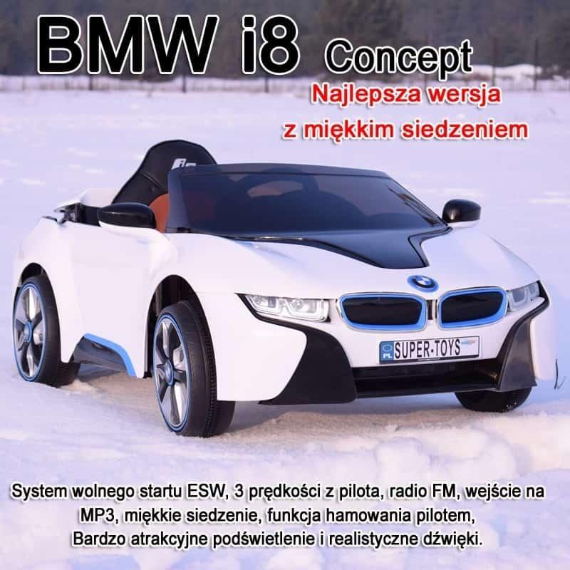 Oryginalne Bmw I8 Concept W Najlepszej Wersji Z Systemem Esw168