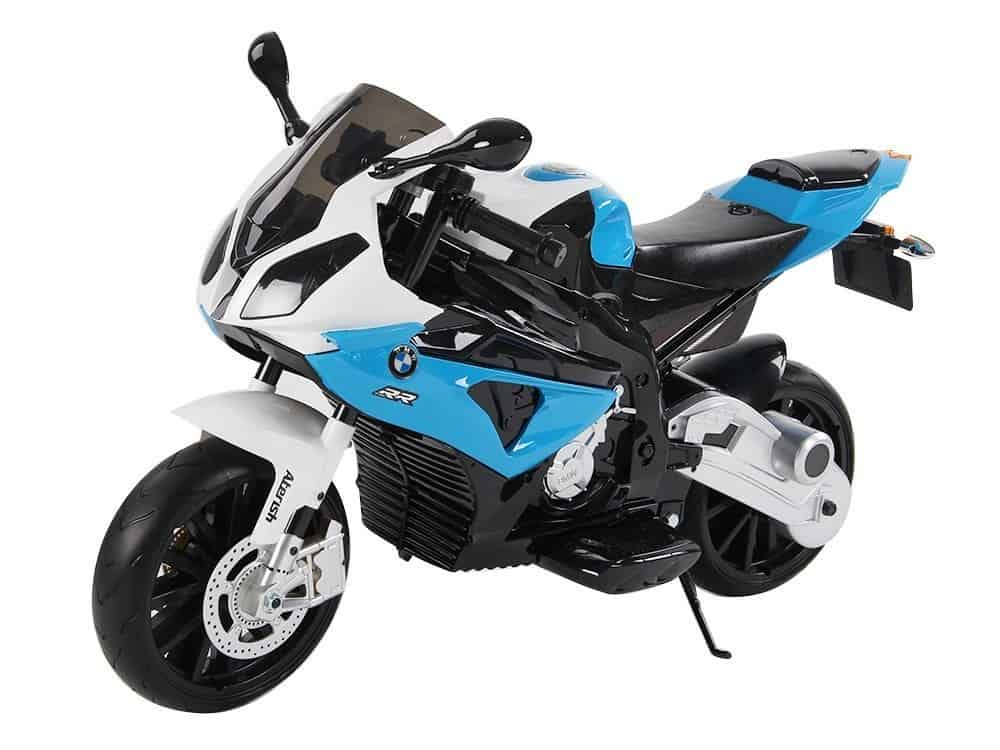 Zaktualizowano WIELKI MOTOR ŚCIGACZ BMW S1000RR 12V - Super-Toys IN38