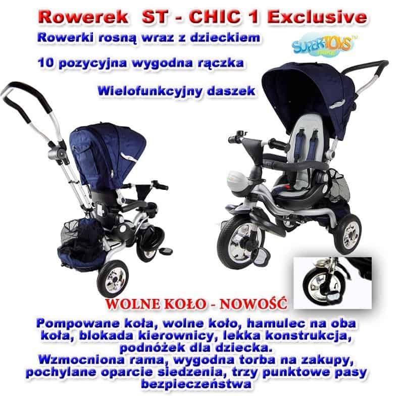 Rowerek CHIC